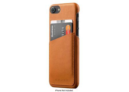 Mujjo Tan Leather Wallet Case For iPhone 7 / 8 - MUJJO-CS-070-TN