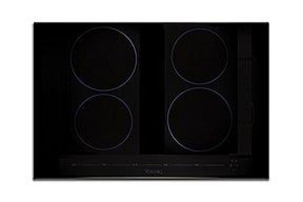 "Large image of Viking 30"" Virtuoso 6 Series Black Glass All-Induction Cooktop  - MVIC6304BBG"