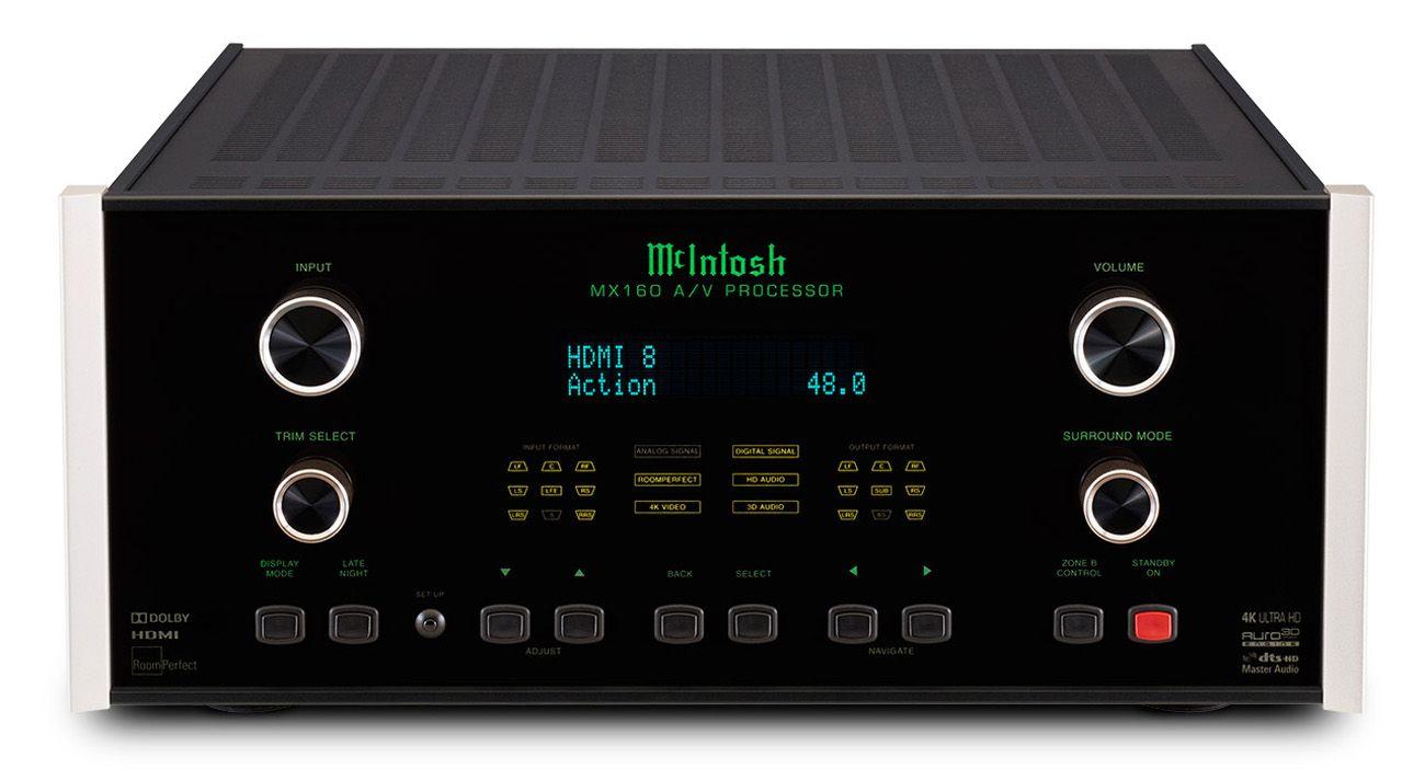 McIntosh Home Theater A/V Processor - MX160
