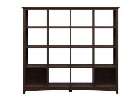 Bush Furniture BV Cherry 16 Cube Bookcase - MY13803-03