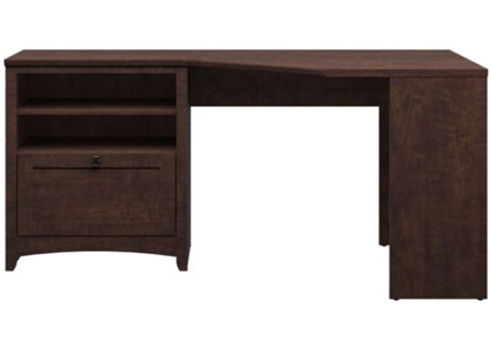 Bush Furniture Madison Cherry Corner Desk - MY13815-03