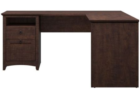 "Bush Furniture Cherry 60"" L-Desk - MY13830-03"