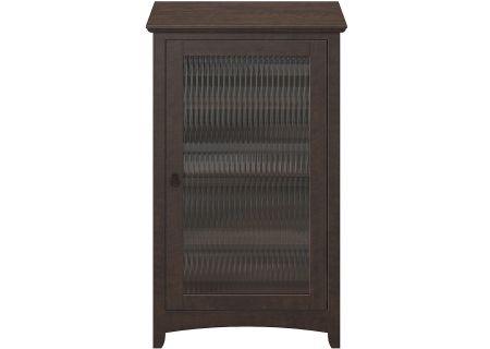 Bush Furniture Buena Vista Madison Cherry Audio Cabinet Bookcase - MY13840-03