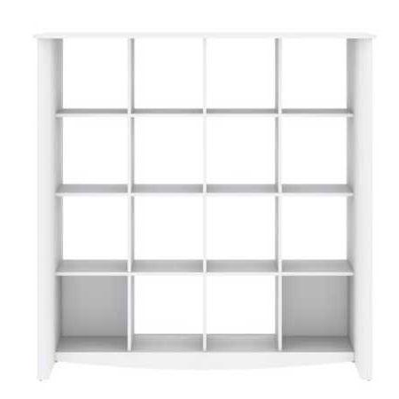 Bush Furniture Aero 16 Cube Bookcase My16103 03