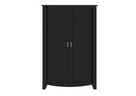 Bush Furniture Aero Black Tall Storage - MY16997-03