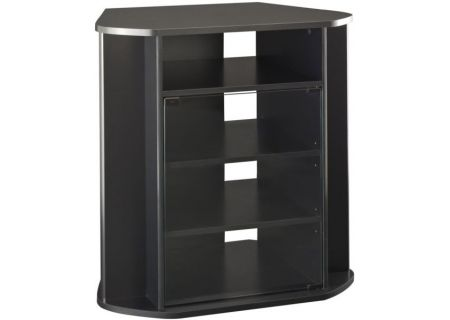 Bush Furniture Visions Tall Black Corner TV Stand - MY37927-03
