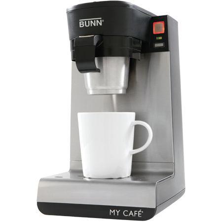 Single Cup Coffee Maker Bunn : Bunn Single Cup Coffee Brewer - MYCAFEMCU - Abt