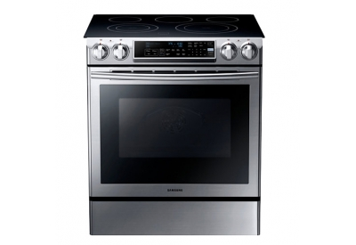 Samsung - NE58F9500SS/AA - Slide-In Electric Ranges