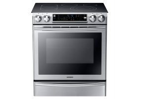 Samsung - NE58F9710WS/AA - Slide-In Electric Ranges
