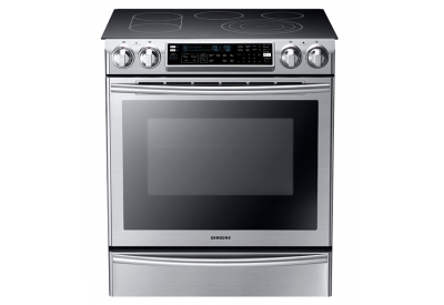Samsung - NE58F9710WS - Slide-In Electric Ranges