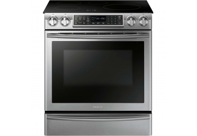 Samsung - NE58K9560WS - Slide-In Electric Ranges