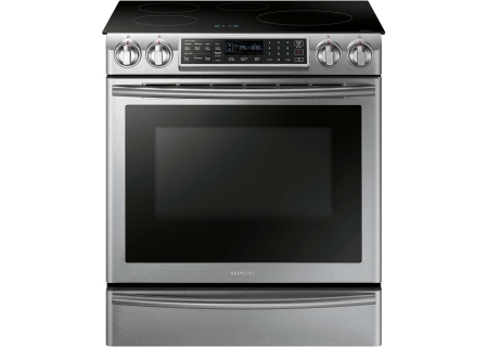 Samsung Stainless Steel Slide-In Induction Range - NE58K9560WS