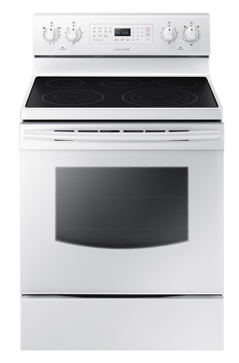 Samsung White Freestanding Electric Range- NE59J7630SW/AA