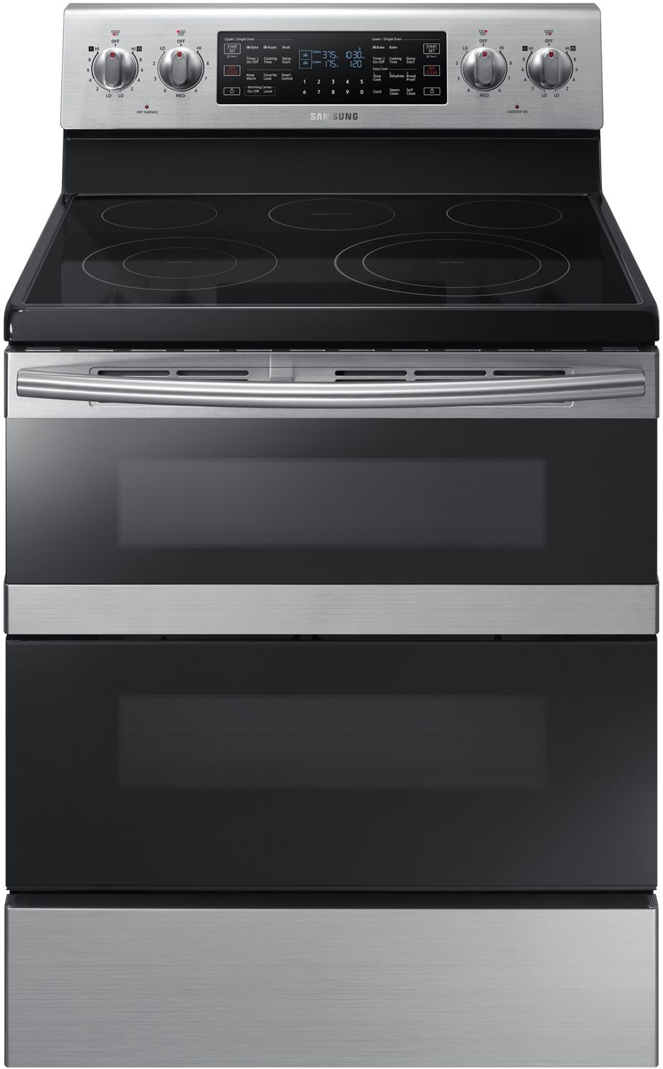 Samsung Stainless Steel Electric Range Ne59m6850ss