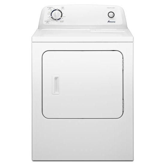 Amana White Front Loading Electric Dryer Ned4655ew