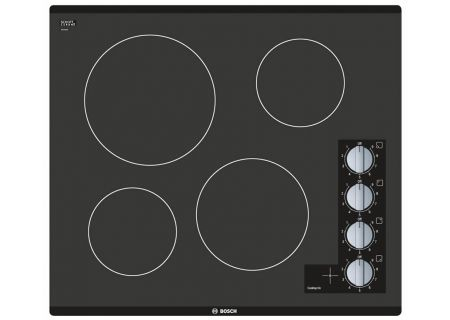 "Bosch 24"" 500 Series Black Electric Cooktop - NEM5466UC"