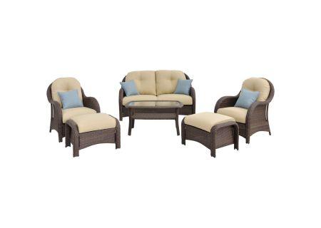 Hanover - NEWPORT6PC - Patio Seating Sets