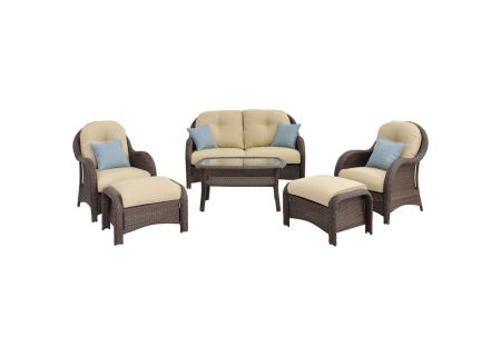 Hanover - NEWPORT6PC - Patio Seating Sets