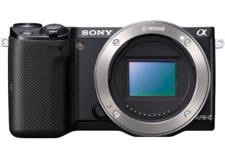 Sony - NEX-5T/B - Digital Cameras