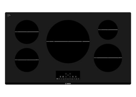 """Bosch 36"""" 800 Series Black Electric Induction Cooktop  - NIT8666UC"""