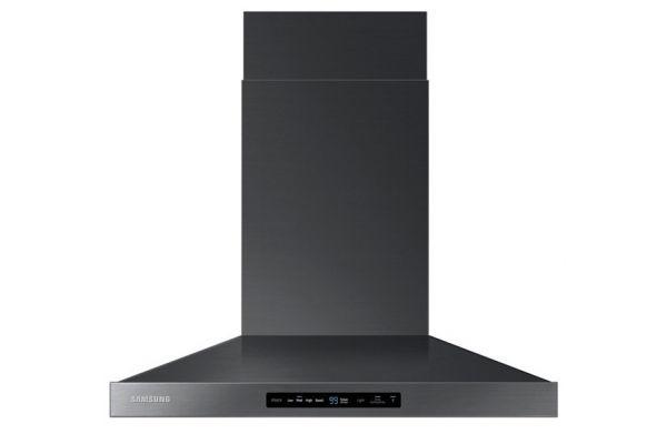 """Samsung 30"""" Black Stainless Steel Wall Mount Hood - NK30K7000WGA2"""