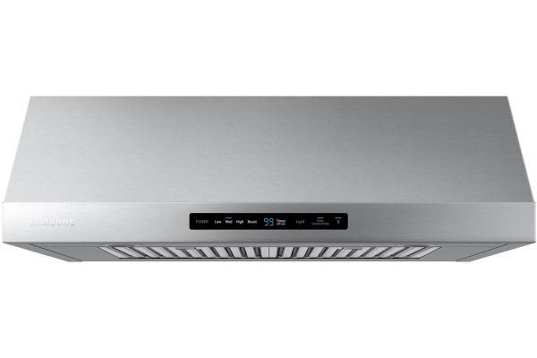 """Large image of Samsung 30"""" Stainless Steel Range Hood - NK30N7000US/AA"""