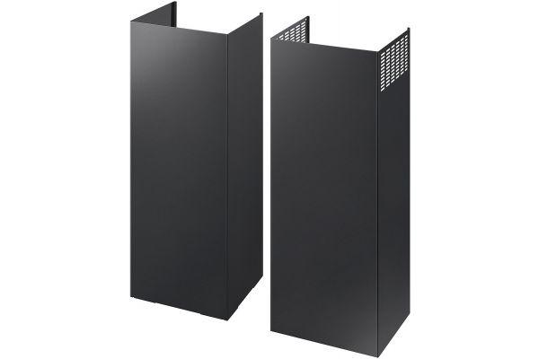 Large image of Samsung Black Stainless Steel Chimney Hood Extension Kit - NK-AE705PWG/AA