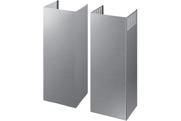 Large image of Samsung Stainless Steel Chimney Hood Extension Kit - NK-AE705PWS/AA