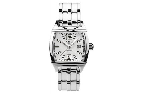 Ball Conductor Transcendent White Womens Watch - NL1068D-S3AJ-WH - NL1068D-S3AJ-WH