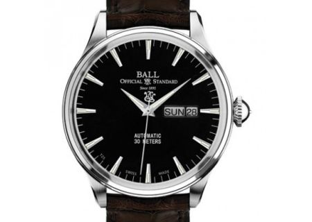 Ball Trainmaster Eternity Black Mens Watch - NM2080D-LJ-BK
