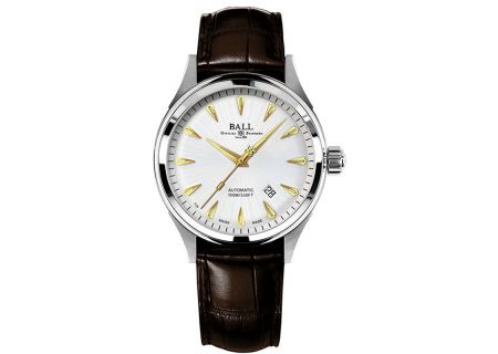 Ball Fireman Racer Classic Silver Dial Automatic Mens Watch - NM2288C-LJ-SL