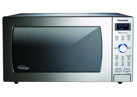 Panasonic - NN-SD775S - Built-In Microwaves With Trim Kit