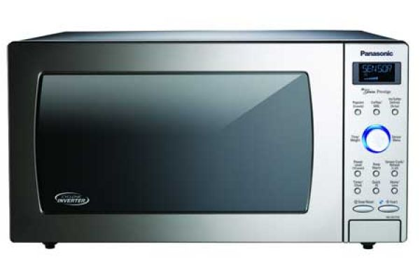 Panasonic 1.6 Cu. Ft. Stainless Steel Countertop Microwave - NN-SD775S