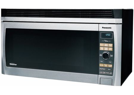 Panasonic Stainless Steel Over The Range Microwave Oven