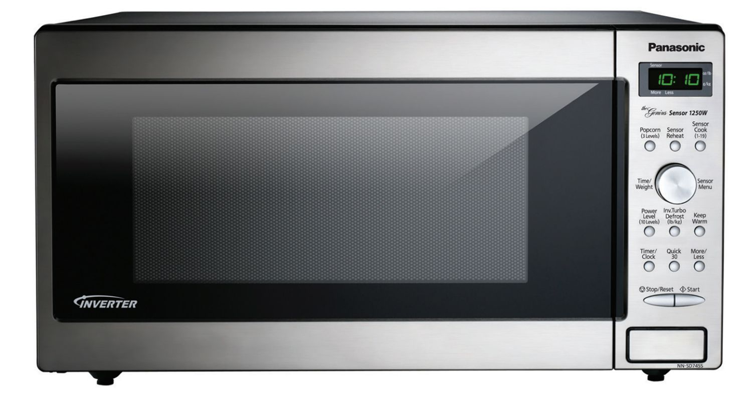 Panasonic Stainless 1 6 Cu Ft Countertop Microwave Oven