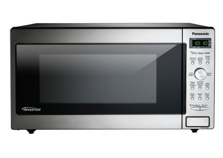 Panasonic Stainless 1.6 Cu. Ft. Countertop Microwave Oven - NN-SD745S