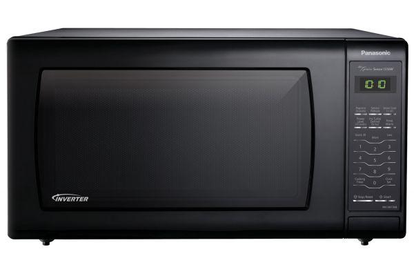 Large image of Panasonic 1.6 Cu. Ft. Black Countertop Microwave Oven - NN-SN736B