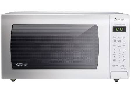 Panasonic - NN-SN736W - Built-In Microwaves With Trim Kit