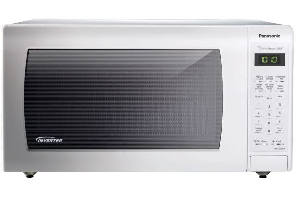 Large image of Panasonic 1.6 Cu. Ft. White Countertop Microwave Oven - NN-SN736W