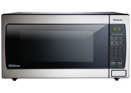 Panasonic 1.6 Cu. Ft. Stainless Steel Countertop Microwave Oven - NN-SN766S