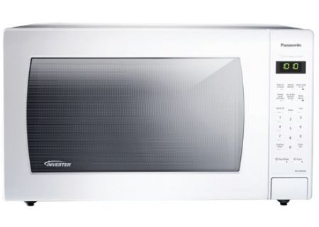 Panasonic 2.2 Cu. Ft. White Countertop Microwave Oven - NN-SN936W