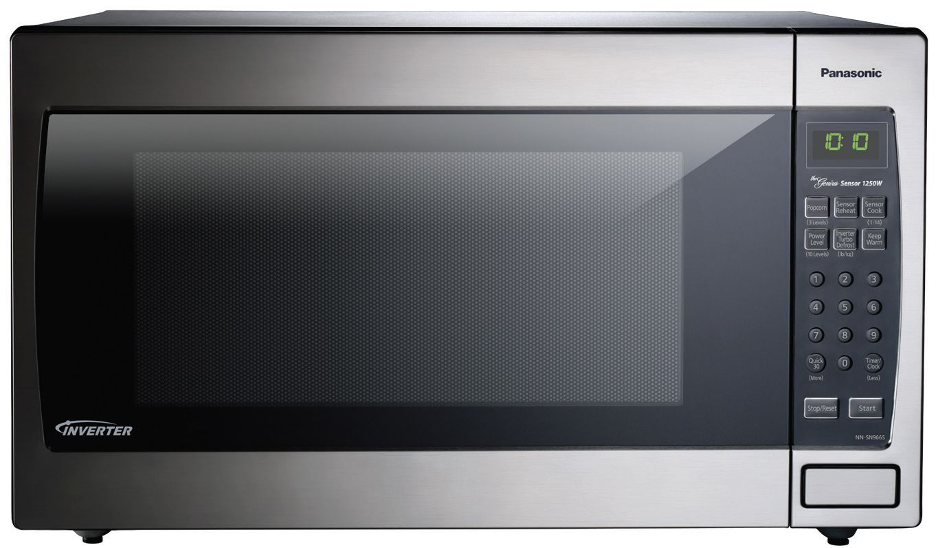 Panasonic 22 Cu Ft Stainless Steel Countertop Microwave Oven