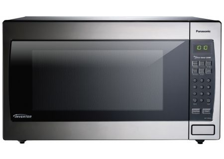 Panasonic 2.2 Cu. Ft. Stainless Steel Countertop Microwave Oven - NN-SN966SR