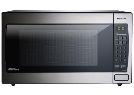 Panasonic - NN-SN966SR - Built-In Microwaves With Trim Kit