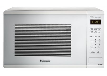 Panasonic White 1.3 Cu. Ft. Countertop Microwave Oven - NN-SU656W