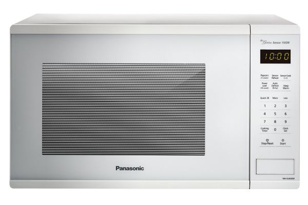 Large image of Panasonic White 1.3 Cu. Ft. Countertop Microwave Oven - NN-SU656W