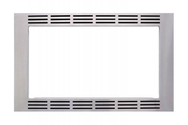 "Large image of Panasonic 30"" Stainless Steel Microwave Trim Kit - NN-TK932SS"