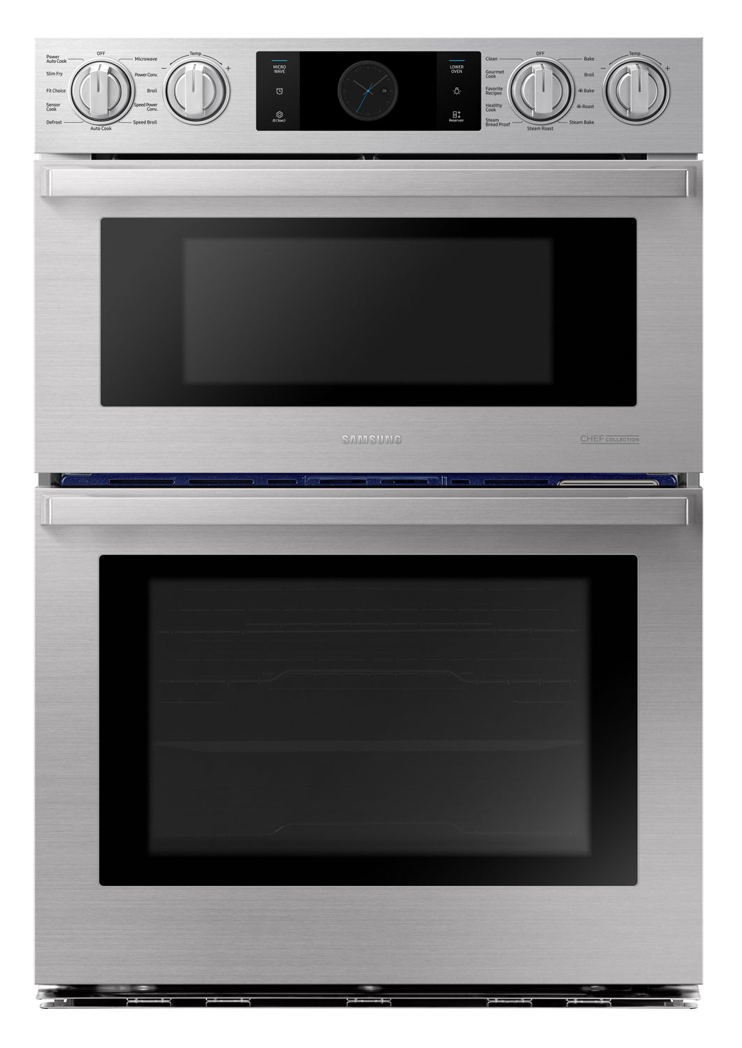 Samsung Chef Microwave Combination Wall Oven Nq70m9770ds