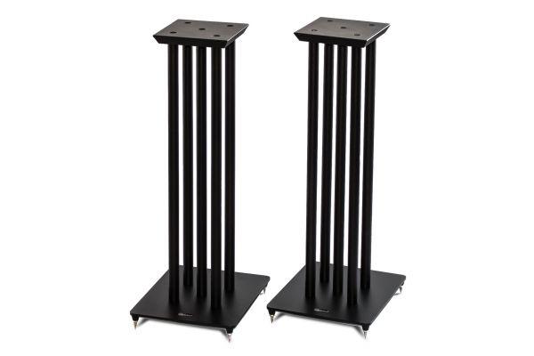 Large image of Solidsteel NS-6 Hi-Fi Speaker Stands (Pair) - NS-6BK