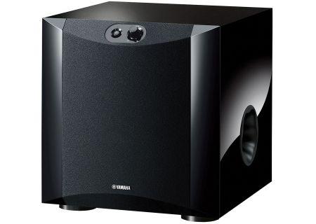 """Yamaha Piano Black 8"""" Powered Subwoofer - NS-SW200"""